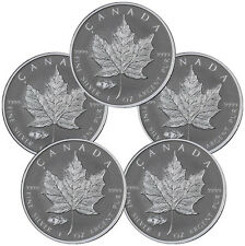 2016 Canada $5 1 Oz Rev PF Silver Maple Leaf Mark V Tank Privy (Lot-5) SKU39172