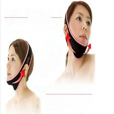 Beauty V Line Facial Mask Chin Neck Belt Sheet Anti Aging Face Lift up Fashion-S