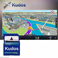 "Kudos 3D North America Map+Free 4GB SD Card For 2 Din 7"" GPS Car DVD Players"