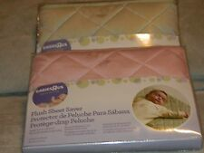Babies R Us Plush Sheet Saver Lot of 2 14.25 x 28.5 in. NEW
