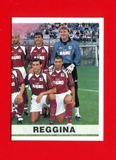 CALCIATORI Panini 2000-2001 - Figurina-sticker n. 316 - REGGINA SQUADRA DX -New
