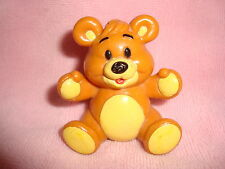 "Shoppers Drug Mart Teddy Bear 1987 PVC Figure 2"" tall x 2"" wide"