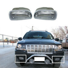 for Jeep Grand Cherokee 1999-2003 Auto Front Fog Lights Housing (No Bulbs) 2pcs