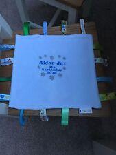 RICAMO personalizzato Nome & Data di nascita & Designs * SOLO NO taggie *
