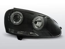 Fari Anteriori per VW GOLF 5 V 03-09 Angel Eyes Neri XLPVWH7I XINO TUNING