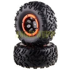 RC Rims/Secure Ring &Tires 2P 18072 For HSP 94180 1/10 4WD Rock Crawler Pangolin