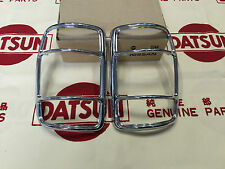 DATSUN 1200 Ute Rwar Tail Lamp Chrome Rims Genuine (For NISSAN B120 Sunny Truck)