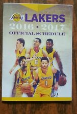 Los Angeles Lakers 2016-17 NBA pocket schedule - Lakers.com