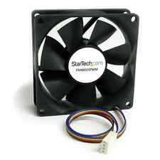 StarTech FAN8025PWM 80x25mm Computer Case Fan w/ PWM 1 x 80mm Lubricate Bearing