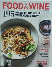 Food & Wine October 2016 195 Ways to up Your Wine Game FREE SHIPPING