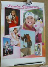 Paula Creamer 2014 Wall Calendar Available in Japan Only Pink Panther LPGA RARE