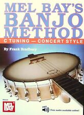 Mel Bay Banjo Method Book for C Tuning Concert Including Free Audio Download