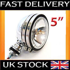 "2 X 5"" CHROME CAR TRUCK SPOTLIGHT FOG LIGHT LAMP WHITE LIGHT WHITE LED"