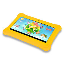 "iRULU BabyPad Tablet 7"" for Kids Android 4.4 8GB Quad Core Dual Cam w/ Earp"