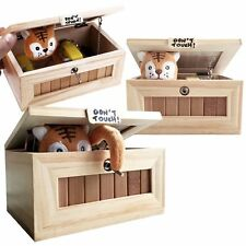 New Wooden Useless Box Leave Me Alone Box Most Useless Dont Touch Tiger Toy Gift