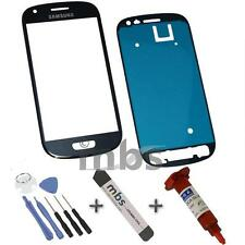 Original Samsung Galaxy S3 Mini i8190 Touchscreen Glass Blau Kleber Werkzeug Set