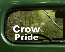 Crow Indian Sticker Pride (2) Native American Cars, Laptops