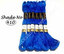 6 Anchor cotton skeins stranded floss embroidery thread - Basic Demanding color