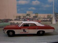 1967 CHEVY IMPALA LOUISIANA STATE POLICE 1/64 SCALE COLLECTIBLE DIECAST MODEL