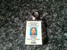 Dexter Morgan ID Badge Jumbo Keyring. NEW Miami Metro. Horror Memorabilia, Keys