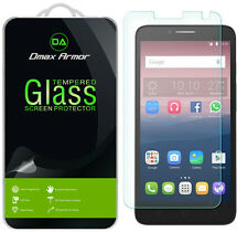3X Dmax Armor Alcatel OneTouch PIXI Glory LTE Tempered Glass Screen Protector