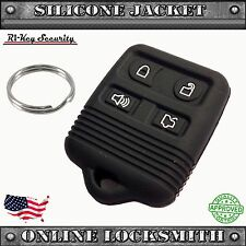 Remote Silicone Cover For F150 F250 F350 4 Buttons Rubber Fob Protective Case