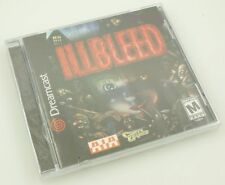 Sega Dreamcast - ILLBLEED - Brand New Factory Sealed NICE