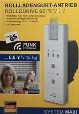 Schellenberg RolloDrive 65 Premium Gurtwickler, Funk-Rolladengurtantrieb