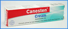 CANESTEN vaginal clotrimazole yeast infection trush ringworm cream 10 g.