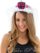 HEN NIGHT TIARA BRIDE TO BE TIARA LONG VEIL TRAIN HEN PARTY ACCESSORIES BRIDE