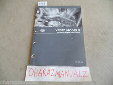 2005 HONDA Harley-Davidson VRSC Parts Catalog Manual  99457-05