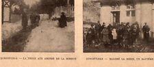 IMAGE 1927 PRINT TURKIYE TURQUIE ZONGULDAK MISSION BAPTEME NEIGE
