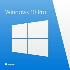 Genuine Windows 10 PRO 32/64BIT OEM Originale codice di licenza PC di scarto