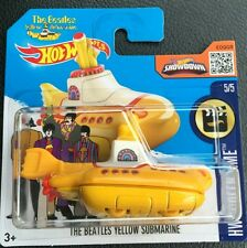 Hot Wheels THE BEATLES YELLOW SUBMARINE - Edition Exclusive Limit