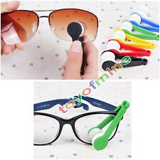 1Pcs multifunzione portatile Sun Glasses Wipe Cleaner Brush No Trace
