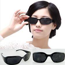 Rasterbrille Ayurveda Brille Sehkorrektur Augentraining Lochbrille Augen x