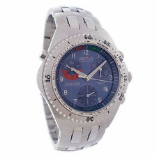 Sector 975 Chronograph Alarm Blue Dial Retail $1049