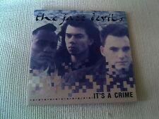 "THE JAZZ DEVILS - IT'S A CRIME - 1988 3"" CD SINGLE"