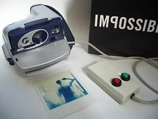 Rare Polaroid P 600 Camera converted to Nightcam / Sofortbild Kamera IMPOSSIBLE