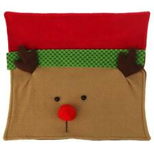 Christmas Xmas Deer Elk Reindeer Pillowcase Sofa Cushion Cover Shell Home Decor