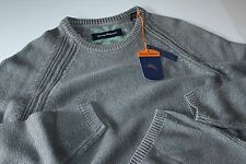 Tommy Bahama Sweater Breaker Bay Crew Neck Carbon Grey T414348  Large L