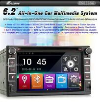 "AUTORADIO GPS 2 DIN ERISIN ES6536G 6.2"" HD DVD USB SD DIVX BLUETOOTH NO DOGANA"