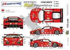 "[FFSMC Productions] Decals 1/32 Ferrari F-430 LMGT2 ""Team RISI"" (LM 2008)"