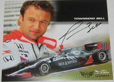 2006 Townsend Bell signed Rock & Republic Honda Indy 500 Indy Car postcard