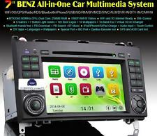 "RADIO DVD 7"" MERCEDES BENZ SERIE A B VITO VIANO SPRINTER  BLUETOOTH,GPS, USB"