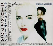EURYTHMICS We Too Are One FIRST JAPAN CD OBI R32P-1212 Annie Lennox Dave Stewart