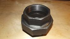 2 INCH UNION BLACK IRON PIPE THREADED FITTINGS- FREE SHIPPING