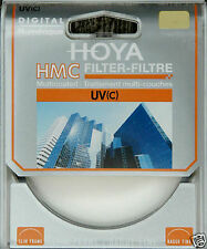 Hoya HMC UV (C) Multi Coated Glass Protector Filter In 43mm Thin/Slim Frame Uk