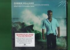 ROBBIE WILLIAMS -IN AND OUT OF CONSCIOUSNESS GREATEST HITS DOPPIO 2 CD SIGILLATO