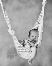 Newborn Baby Hammock Cocoon Photography Photo Prop Handmade  WHITE ***SALE***